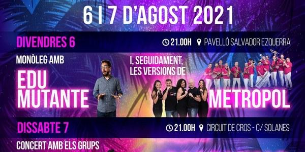 Festa Major Golmés - Concert Jove
