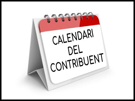 Calendari del Contribuent