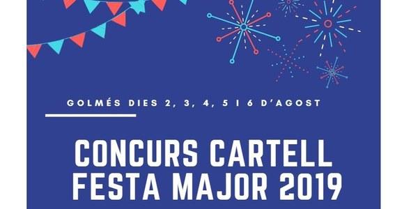 Concurs cartells Festa Major 2019