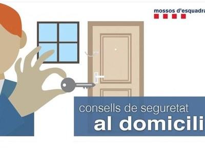 Consells de seguretat per al domicili
