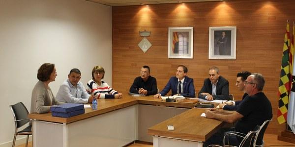 El subdelegat del Govern visita l'ajuntament de Golmés