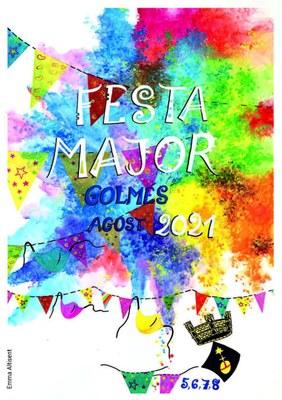 Festa Major de Golmés 2021 - Programa d'actes