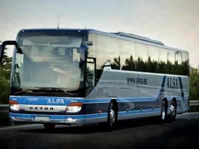 Nous horaris autobusos Alsina Graells (ALSA)