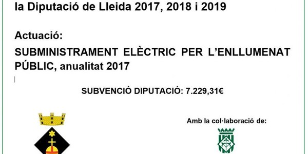 Pla d'Arrendaments i Subministraments 2017-2018-2019