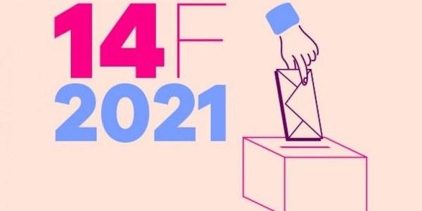 Resultats eleccions 14F a Golmés